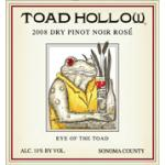 Toad Hollow Pinot Noir Rosé 2008