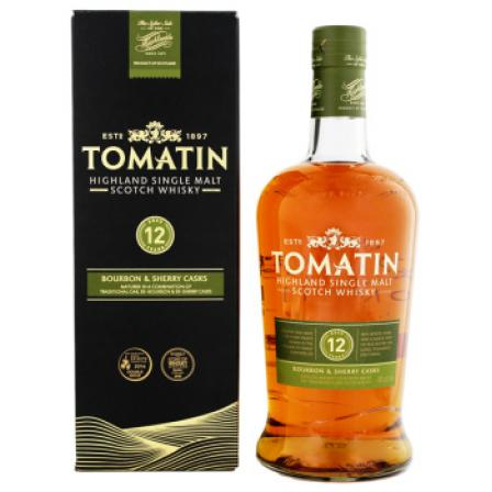Tomatin 12 Anos Sherry Cask 1L