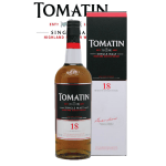 Tomatin 18 Years Old Label
