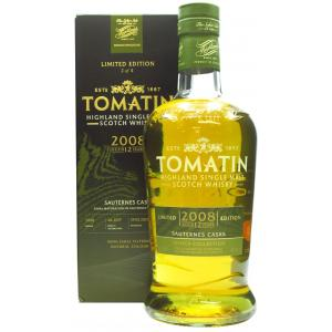 Tomatin French Collection Sauternes Cask 12 Year old 2008