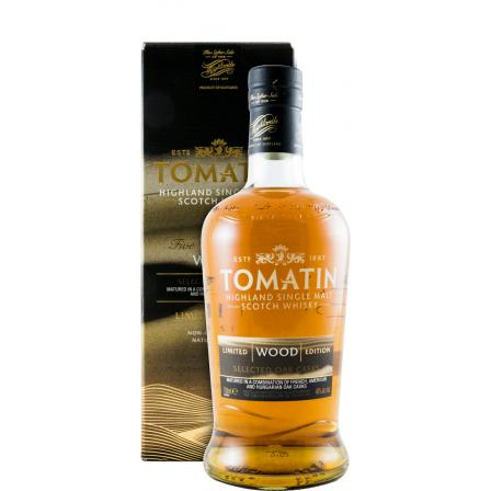 Tomatin Wood Selected Oak Casks Five Virtues Series