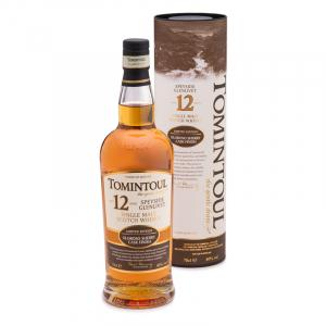 Tomintoul 12 Year old Sherry Cask Finish