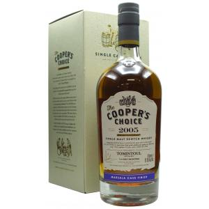 Tomintoul Coopers Choice Marsala Wine Finish 15 Year old 2005