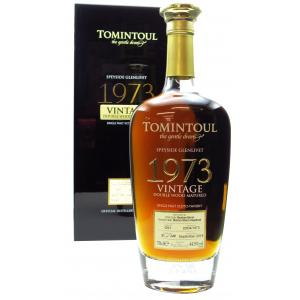 Tomintoul Double Wood Matured Speyside 45 Year old 1973