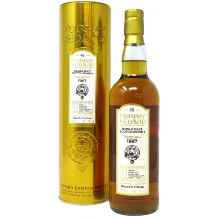 Tomintoul Murray Mcdavid Mission Gold Limited Release 48 Anni 1967