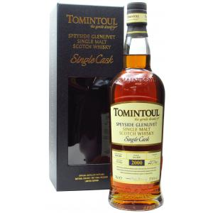 Tomintoul Single Cask Port Pipe 19 Year old 2000