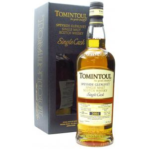 Tomintoul Single Cask Sherry Butt 13 Year old 2004