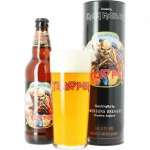 Tube Trooper Iron Maiden (1 Bière + 1 Verre 50cl