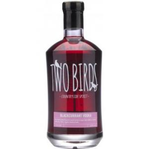 Two Birds Blackcurrant and English Vodka