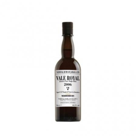 Vale Royal Vrw Long Pond Jamaica Pure Single Rum 2006