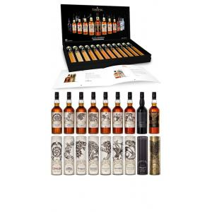 Various Distilleries Game Of Thrones All 9 Bottles & Complete Tasting Set Collection Gift Set