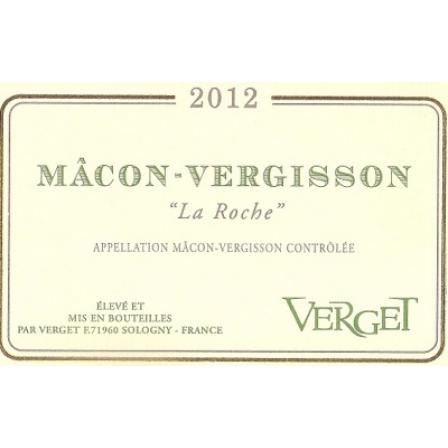 Verget Macon Vergisson la Roche 2012