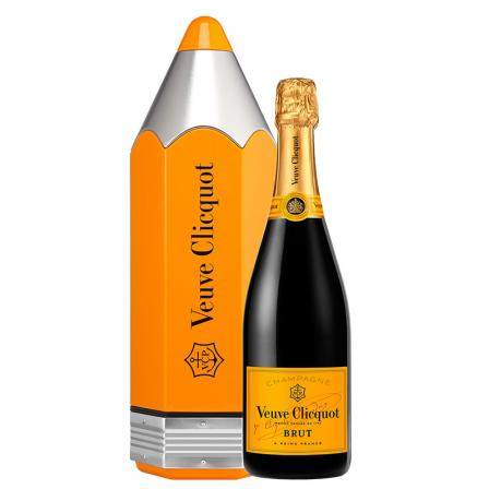 Veuve Clicquot Yellow Label Estuche Pencil Colorama