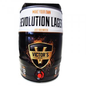 Victor's Drinks Barril Revolution Lager Fu 4.5L