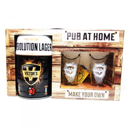 Victor's Drinks Pub At Home Revolution Lager Coffr 4.5L