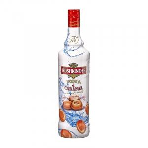Vodka Rushkinoff Caramel 1L