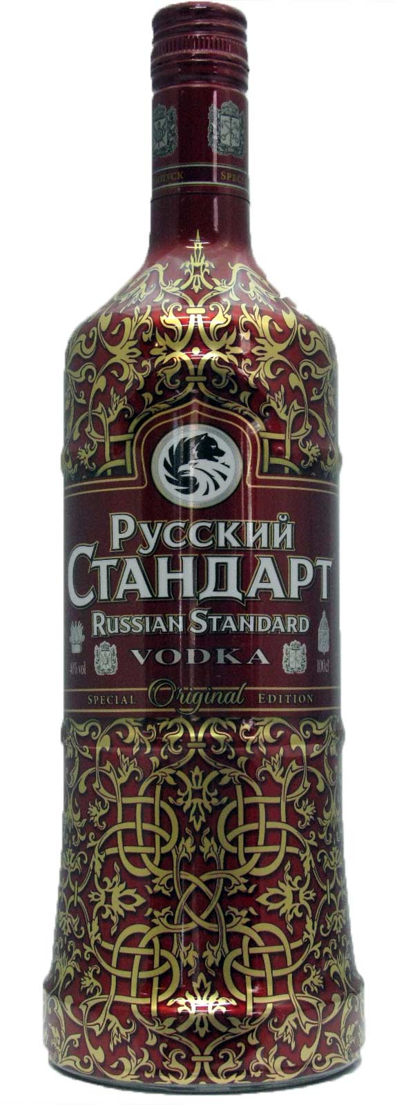 vodka russian standard original sleeve 1 limited edition. Black Bedroom Furniture Sets. Home Design Ideas