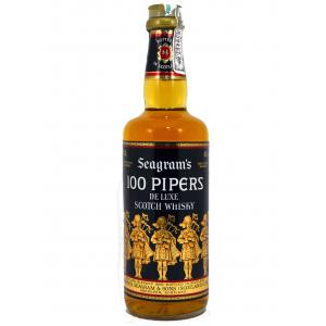 Whisky 100 Pipers Años 70 75cl