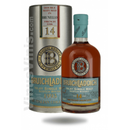 Whisky Bruichladdich 1993 Brunello Finish 14 Años