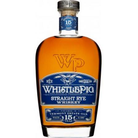 Whistlepig 15 Years Vermont Oak Finish