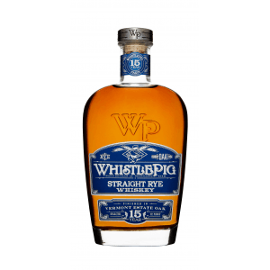 Whistlepig Vermont Estate Oak Rye 15y.