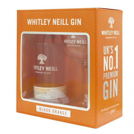 Whitley Neill Blood Orange Gin 70cl Gift