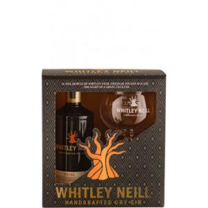 Whitley Neill Gin Glas Glass Gift Pack