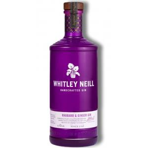 Whitley Neill Rhubarb & Ginger Small Batch Gin 1L