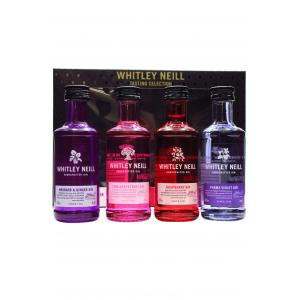 Whitley Neill Tasting Set 4 X Flavoured Gin 50ml