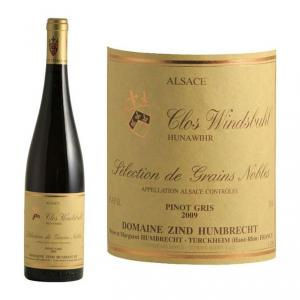 Zind Humbrecht Pinot Gris Clos Windsbuhl Sélection de Grains Nobles 2009